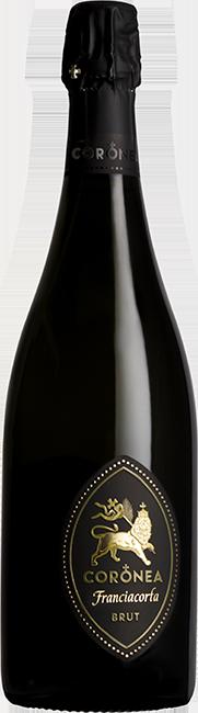 Coronea Franciacorta Brut bottle